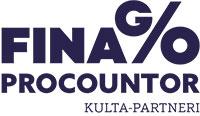 Procountor kultapartneri logo
